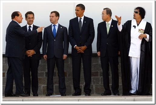 Silvio Berlusconi Muammar al Gaddafi G8 L OiJa-YE9jDrl