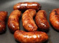 English sausages