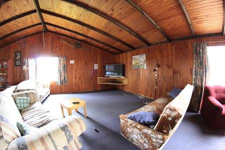Tongariro, in living la Howards lodge