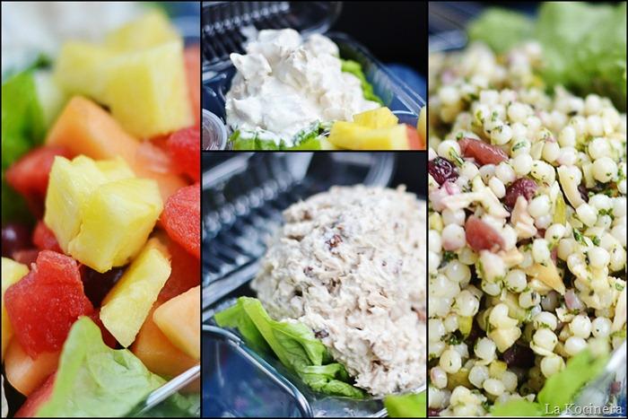 blurry salads