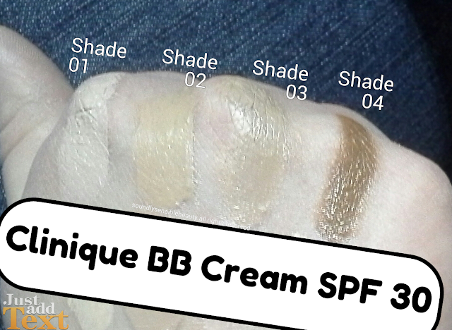 Clinique Age Defense BB Cream; SPF 30 Beauty Balm: Review & Swatches of Shades; Shade 01, Shade 02, Shade 03, Shade o4