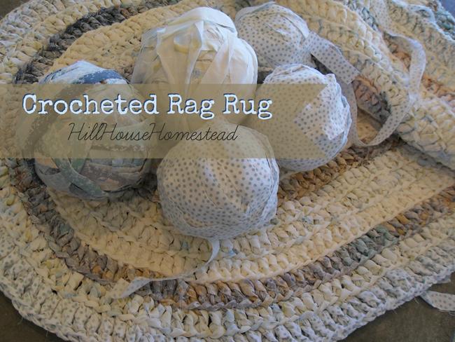 Crocheted Rag Rug
