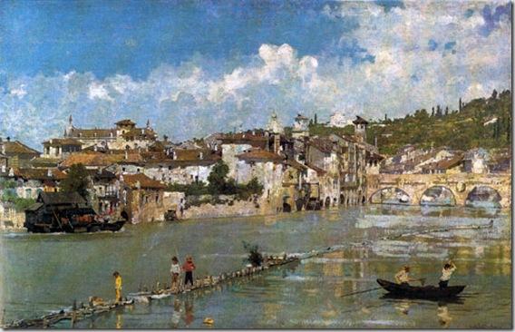 Angelo Dall'Oca Bianca - Pescatori di sabbia o Verona