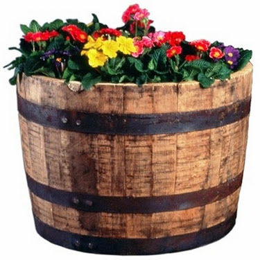 WHISKEY_BARREL_PLANTER Whiskey Barrel Planter