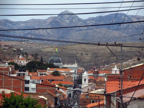 Looking down on Sucre