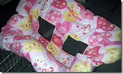 heart pink yellow trolley cover leg 1