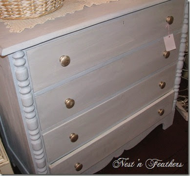 Blue grey dresser AFTER close