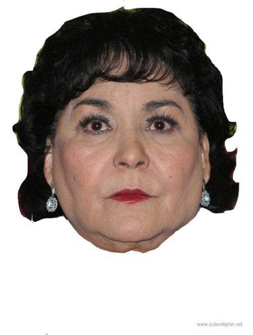 Máscara de Carmen Salinas
