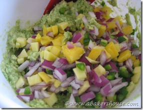 mix together avocado ingredients