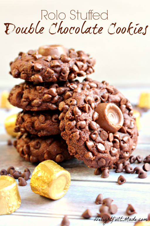 Rolo-Stuffed-Double-Chocolate-Cookies-by-DelightfulEMade.com-vert2-682x1024