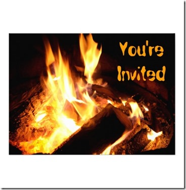 bonfire invite
