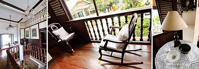 Inside the Goco Ancestral House in Taal, Batangas