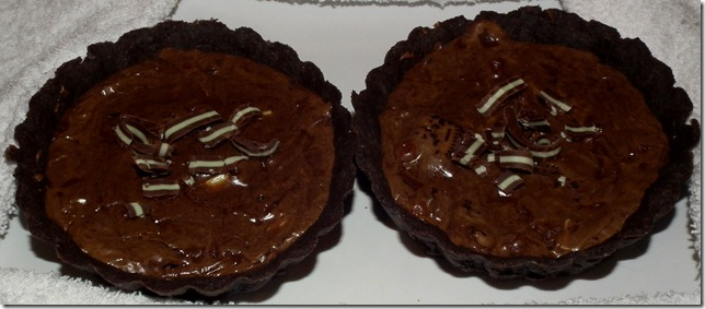 TWD--Chocolate Tartlets 2-20-12