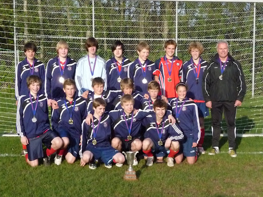 U-15 Gold Boys FC95 District Cup champs