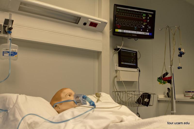 Sala de simulación clínica