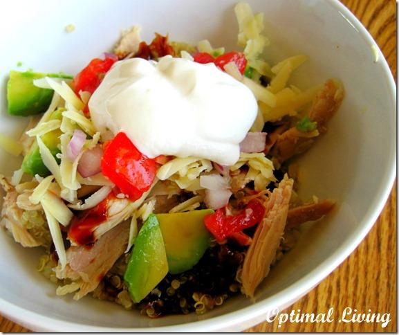 BBQ chicken quinoa 7