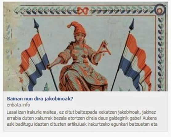 Jacobinisme vist pels Bascos
