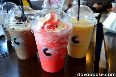 Fro-Reo, Strawberry Chill and Mango Chill at Coffee Dream