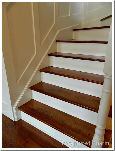 Elegant Stairs Refinished 002a