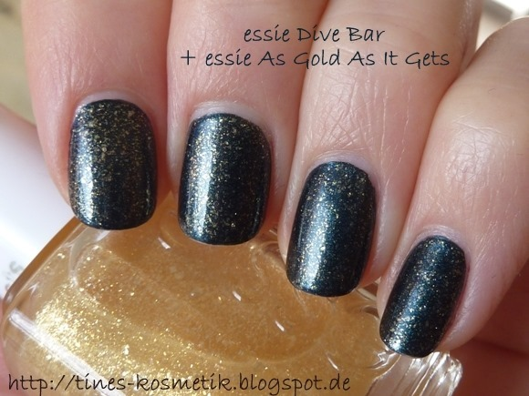 essie Dive Bar As Gold As It Gets 1