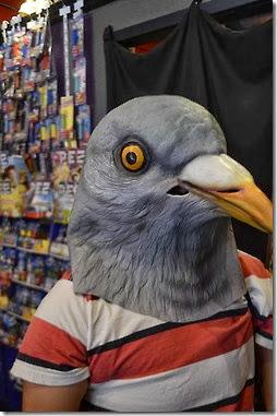 disfraz de paloma