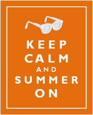 keep calm summer on