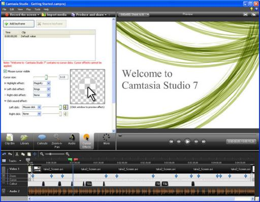 Descargar Camtasia Studio gratis