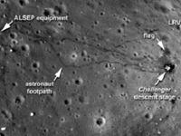Gambar Terbaru Kondisi  Bulan Di Publikasikan NASA
