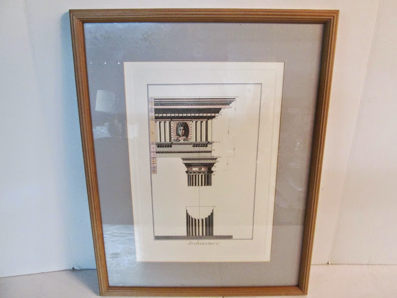 Architecture Lithograph