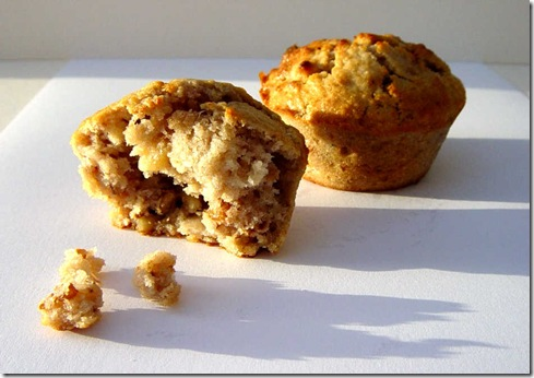 Onion Walnut Muffins