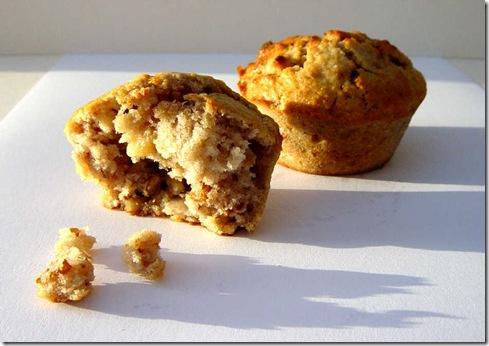 Onion Walnut Muffins