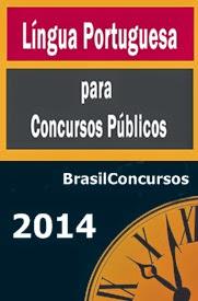 Apostila de Português para Concursos 2014, por BrasilConcursos