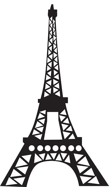 THE EIFFEL TOWER COLORING PAGE
