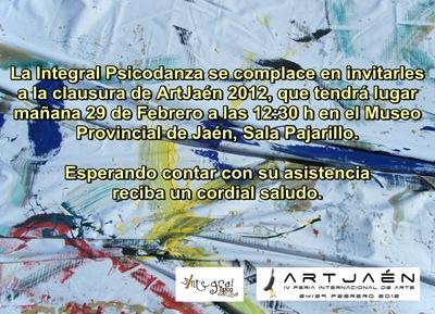 Invitacion La Integral Artjaen