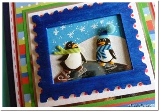 Penguin Christmas Card.