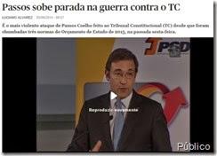 Passos Coelho incontinente.Jun.2014