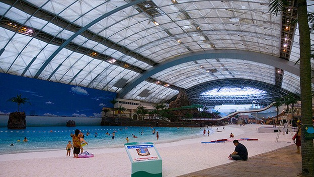 Main Pool Seagaia Ocean Dome, Japan