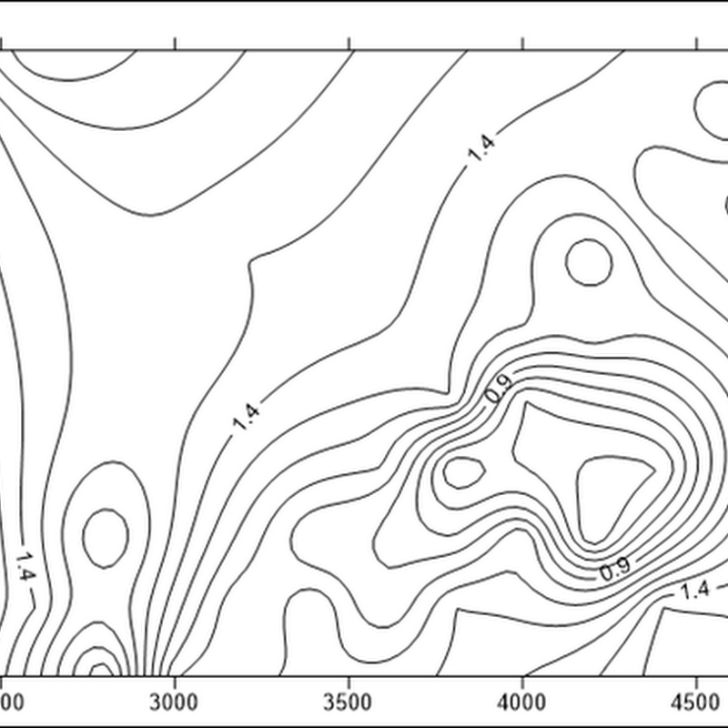 How To Create A Simple Contour Map In Surfer Geologyhub