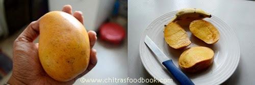 Mango seekarane step1
