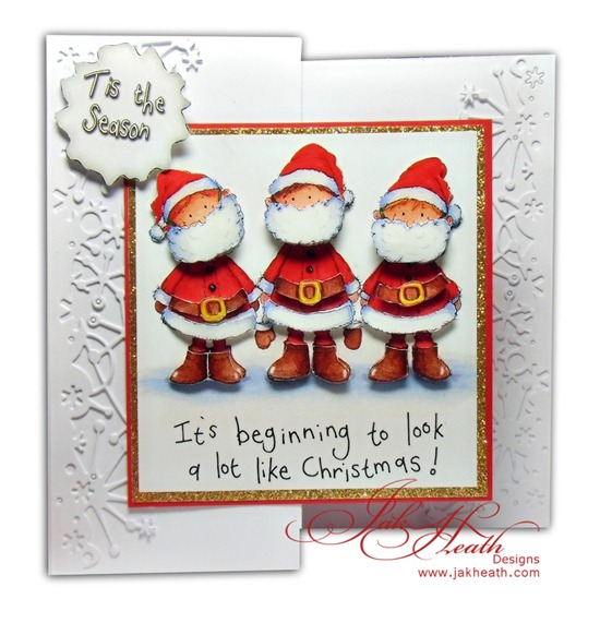 Tinsel Tots Santas