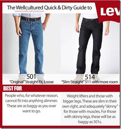 Levi's 501 & 514