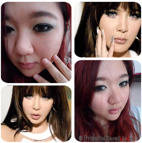 Park Bom Inspired Makeup Falling in Love Priscilla