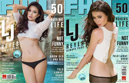 LJ Reyes covers FHM Feb 2013