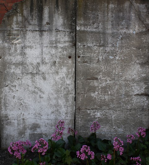 ... a piece of wall from Berlin ...