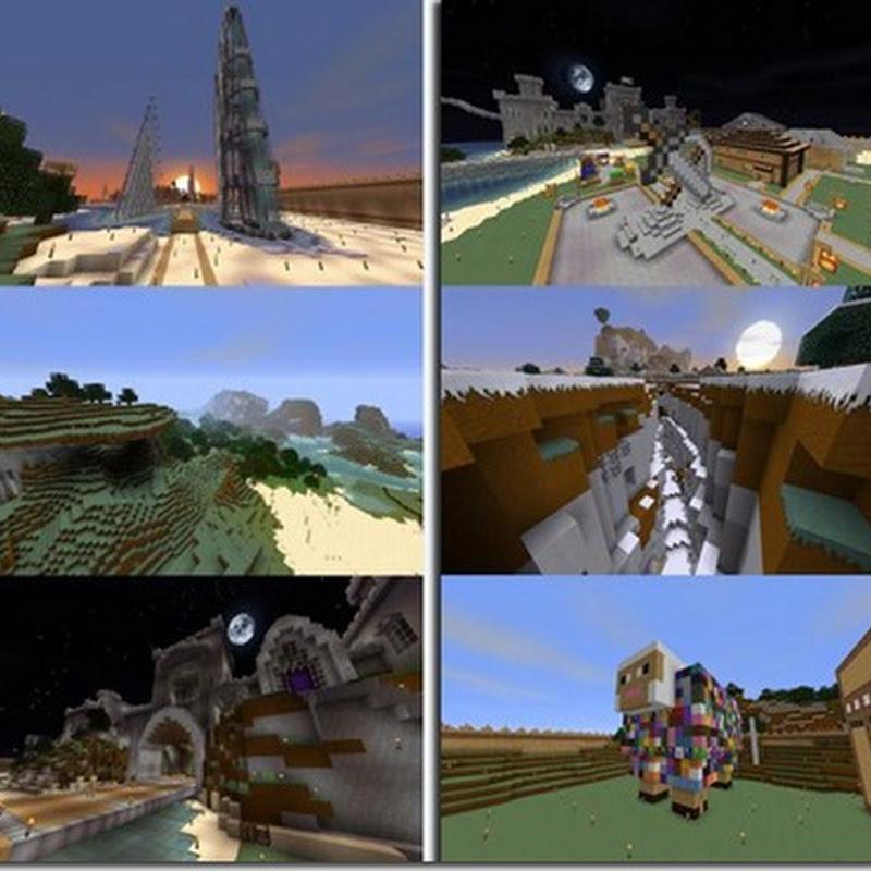 Minecraft 1.2.5 - Defscape Texture Pack Mod (grafica HD)