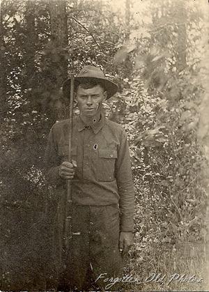 soldier or hunter Bemidji Antiques CCC Uniform