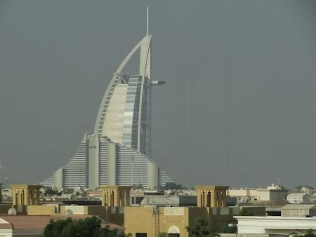 Burj al Arab si Hotel Jumeirah Beach