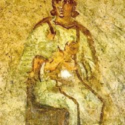 140 Virgen con niño Catacumbas Priscilla.jpg