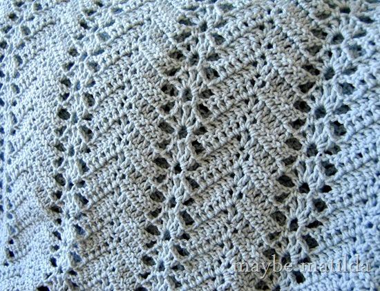 Grandma's Lacy Ripple blanket