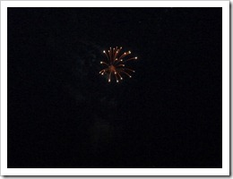 Mount Airy-4th July Firework